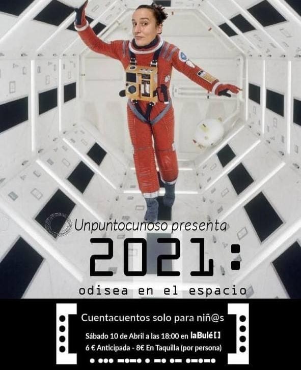 2021 odisea en el espacio en Salamanca. La bulé