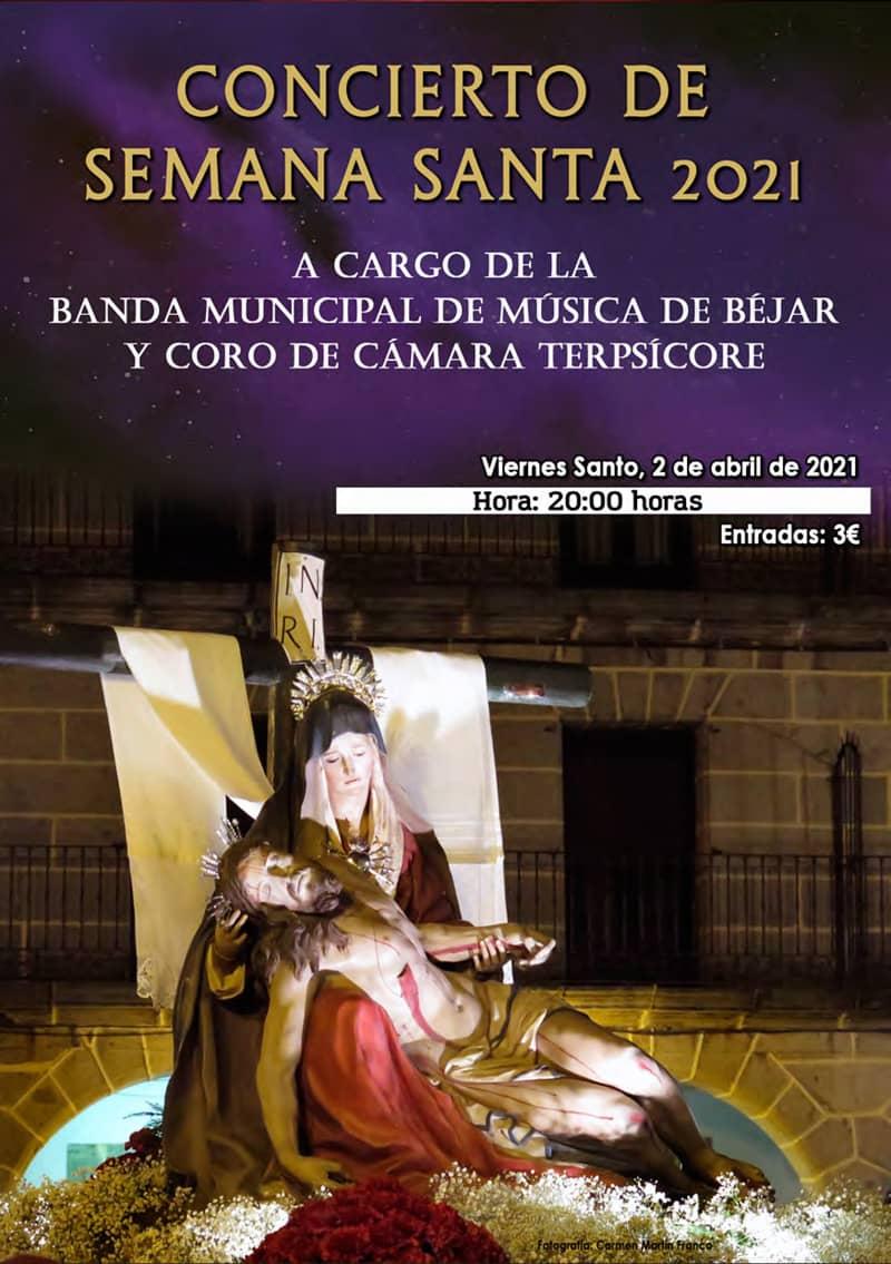 Concierto de Semana Santa 2021 en Béjar