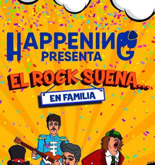 Happening. El rock suena en familia en Salamanca