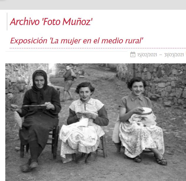 La mujer en el medio rural en Aldeadávila