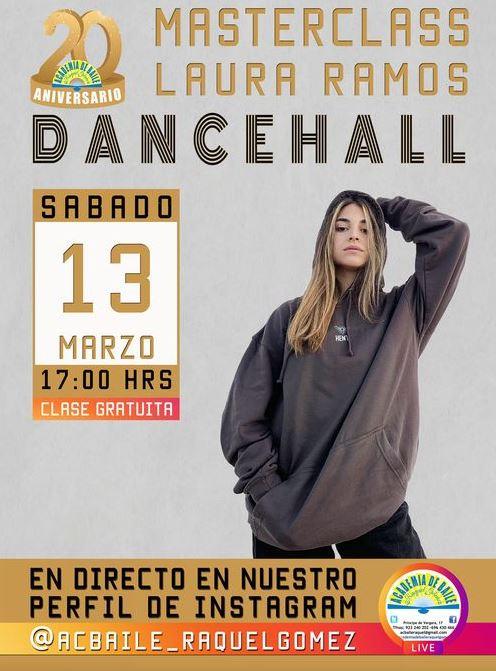 Masterclass de DanceHall en Salamanca
