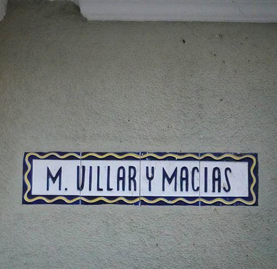 Premio Villar y Macias