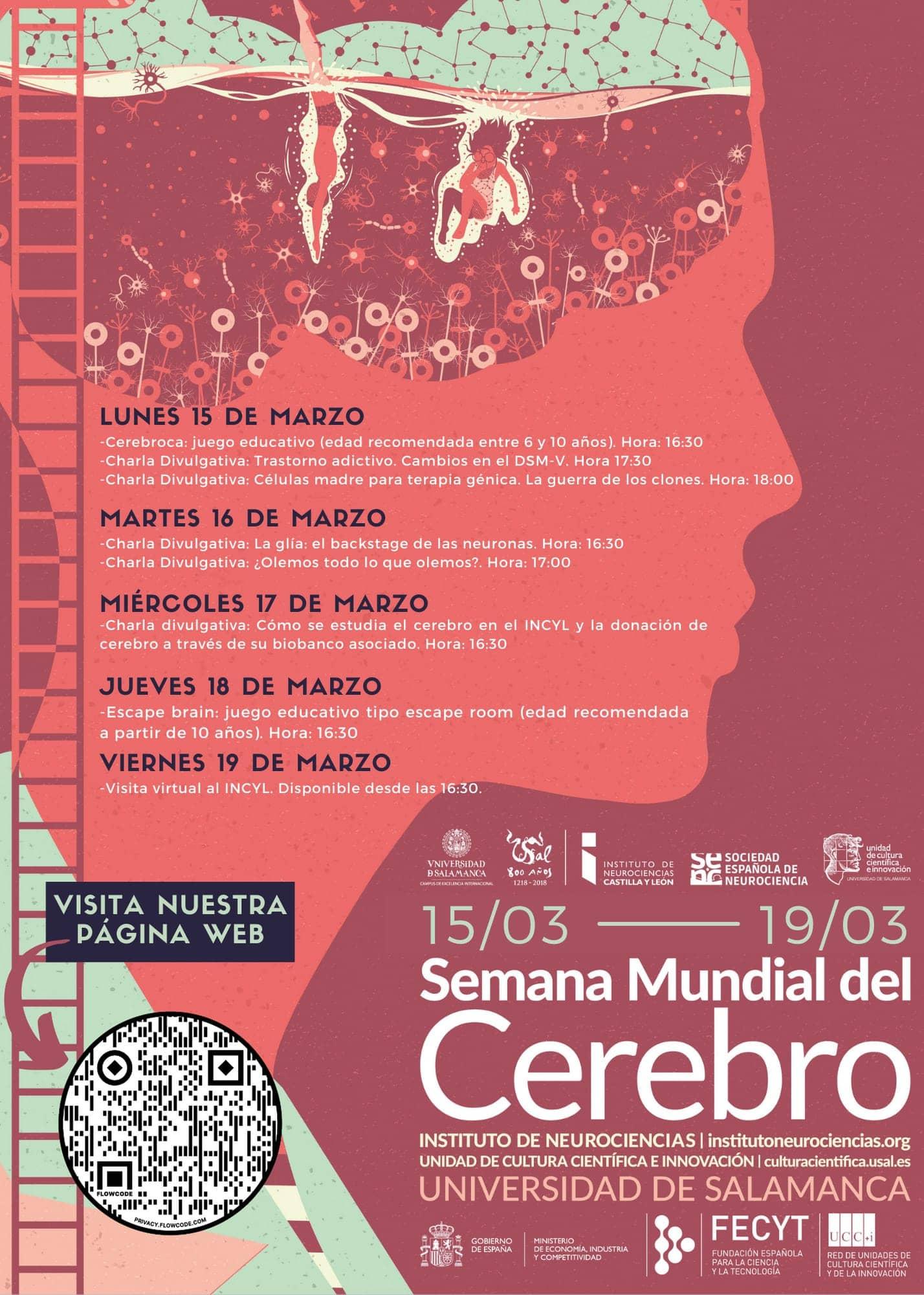 Semana mundial del cerebro Salamanca