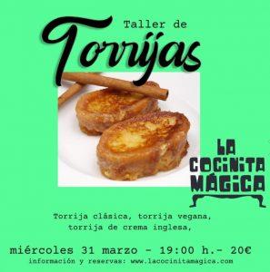 Taller de torrijas en Salamanca