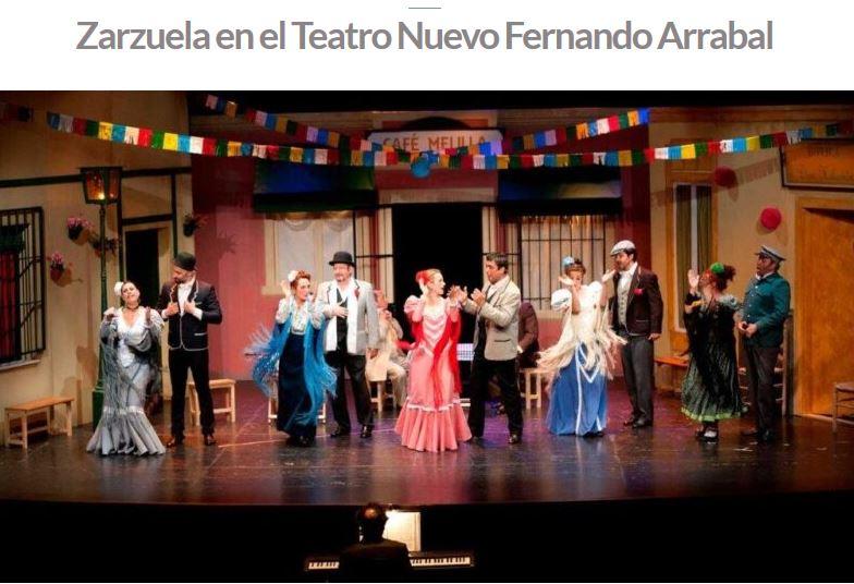 Zarzuela en Ciudad Rodrigo