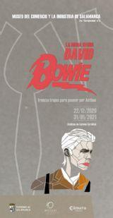 Cartel David Bowie. Exposición en Salamanca
