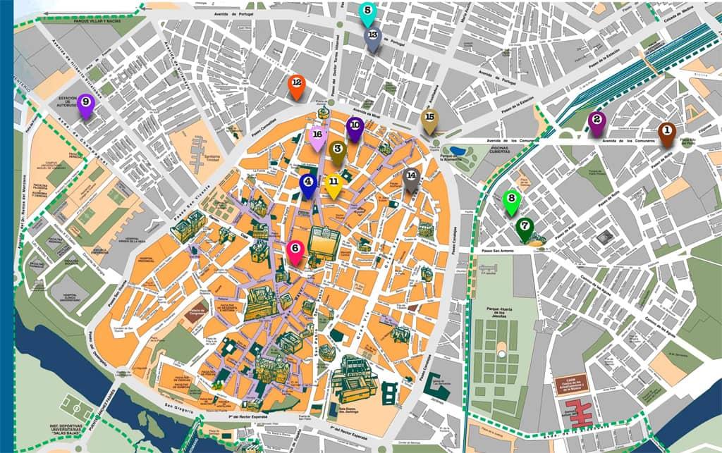 Día del libro Salamanca 23 abril 2021. Mapa de Librerías