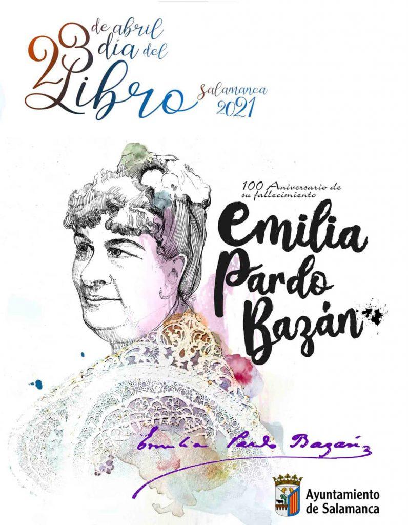Día del libro Salamanca 23 abril 2021. Cartel