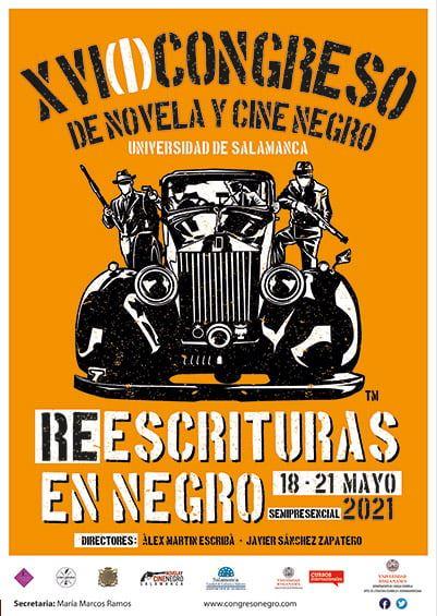 Congreso de Novela y Cine Negro. Universidad de Salamanca