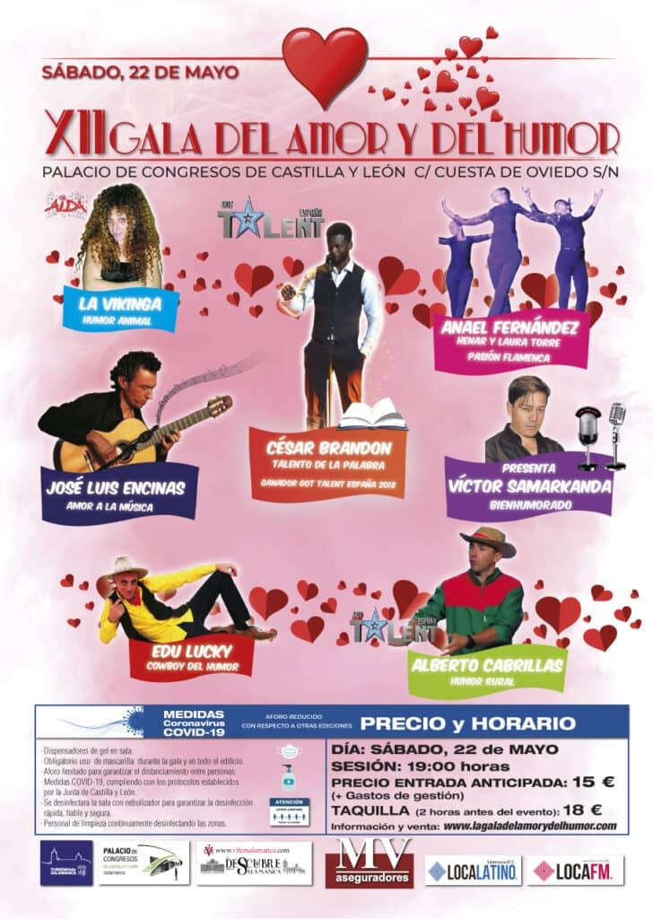 XII Gala del Amor y del Humor - Sábado 22