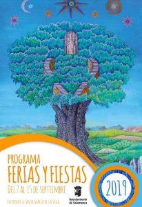Cartel de ferias de Salamanca 2019