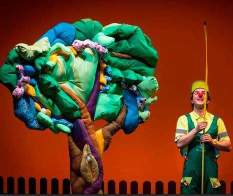 Claudio Clown en Ledesma
