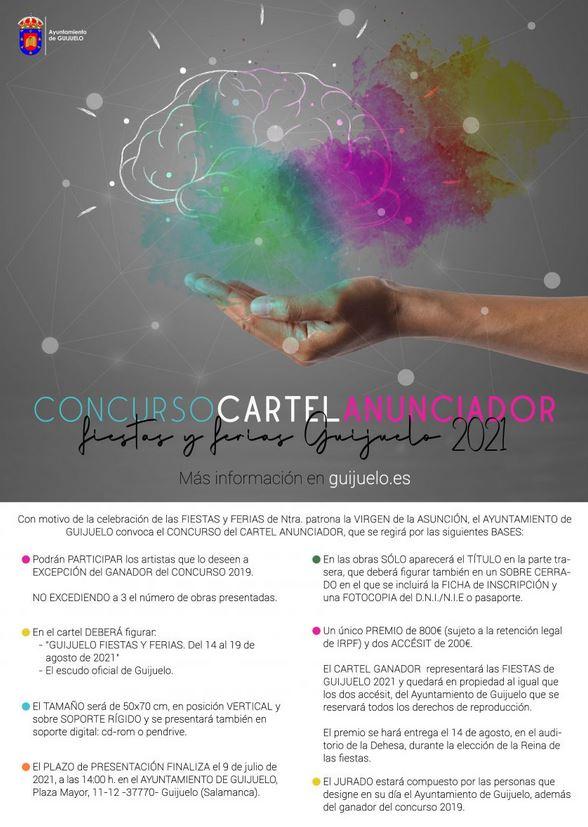 Concurso cartel fiestas de Guijuelo 2021