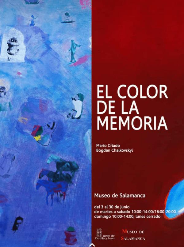 El color de la memoria-portada