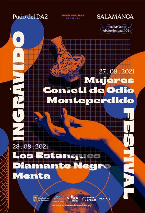 Festival Ingrávido. I Festival de música Indie en Salamanca