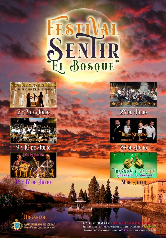 Festival Sentir El Bosque. Béjar