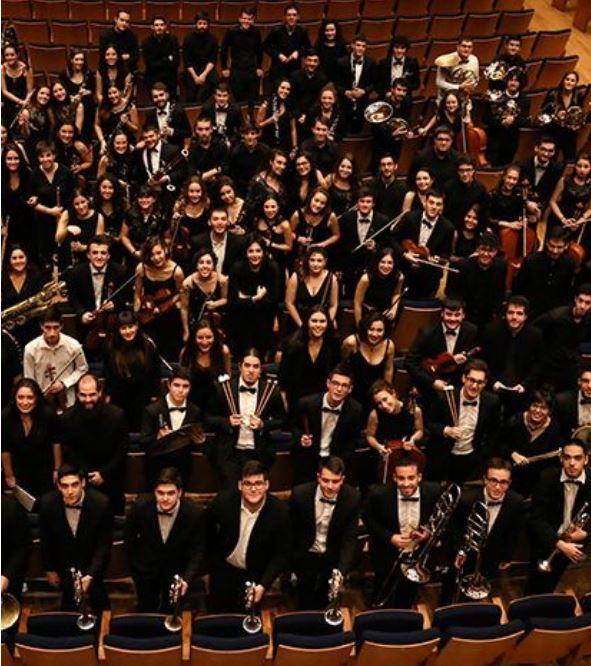 Orquesta Sinfónica Del Conservatorio Superior De Música De Castilla Y León
