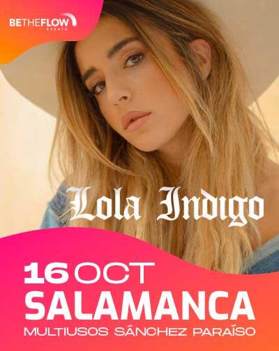 Lola Índigo en Salamanca