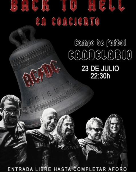 Back to hell en Candelario