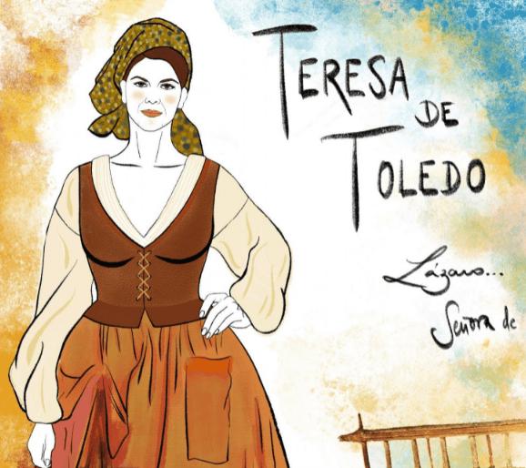 Teresa de Toledo, Salamanca
