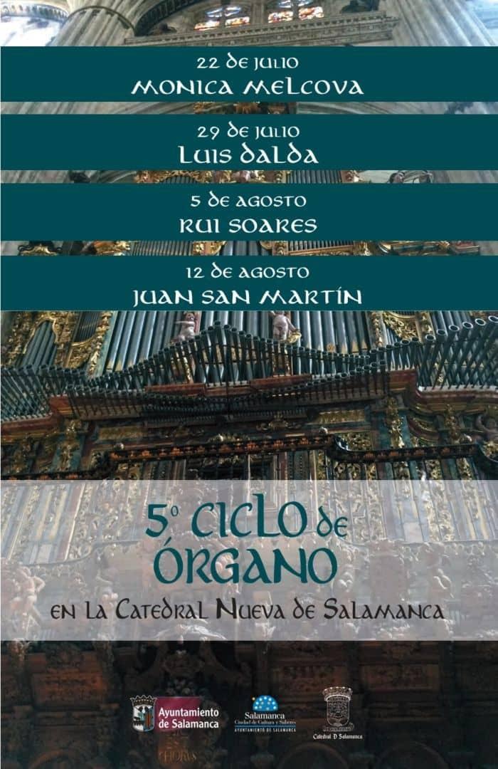5 ciclo de órgano Salamanca Catedral Nueva