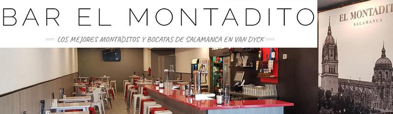 Bar El Montadito en Van Dyck Salamanca