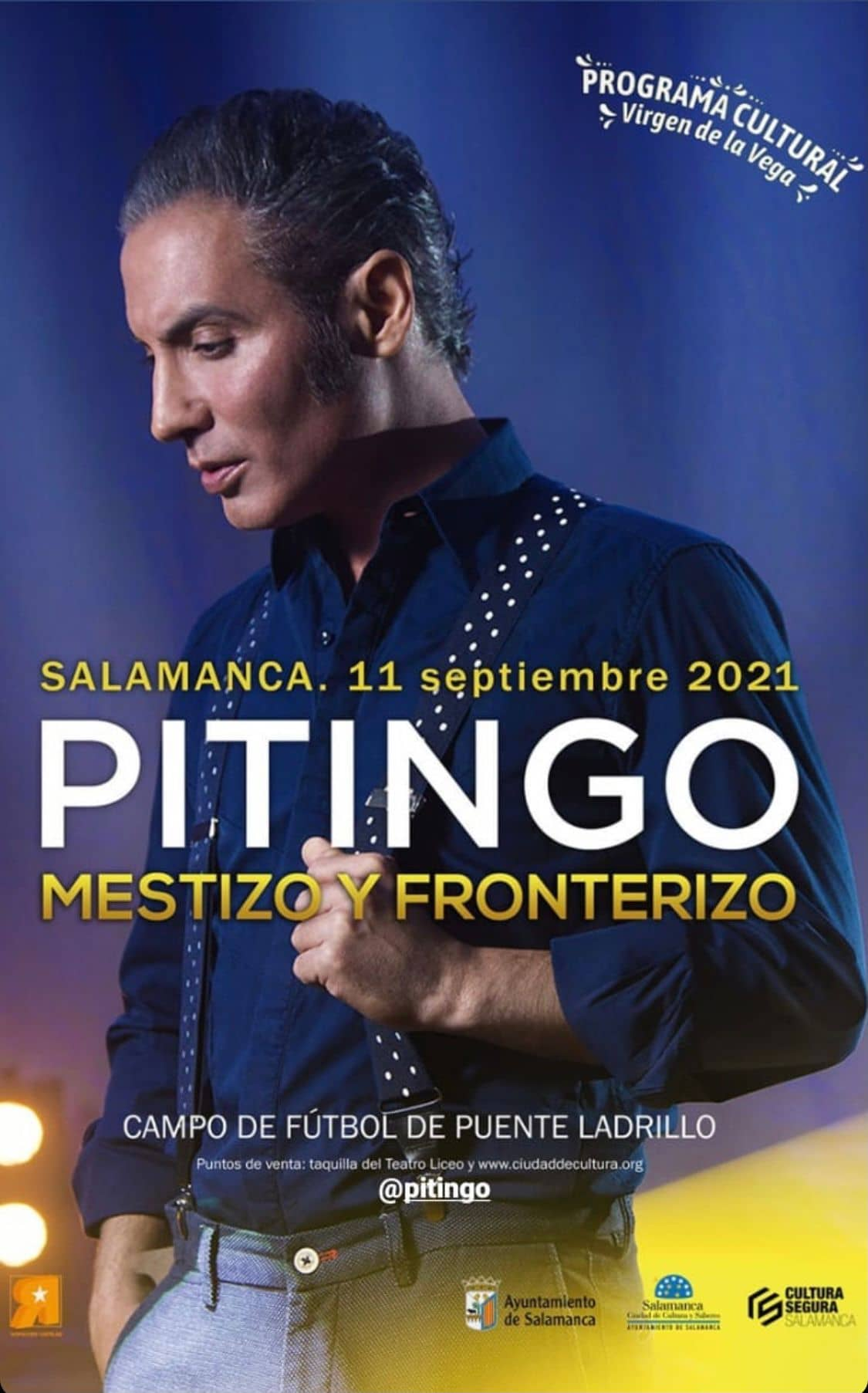Pitingo en Salamanca