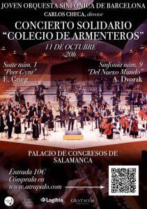 Concierto solidario Colegio de Armenteros