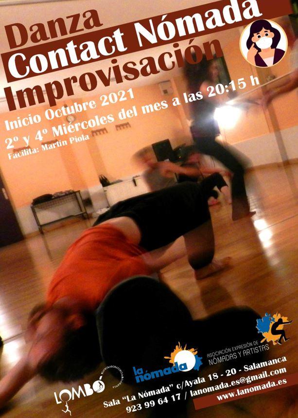 Danza Contact Nómada Improvisación