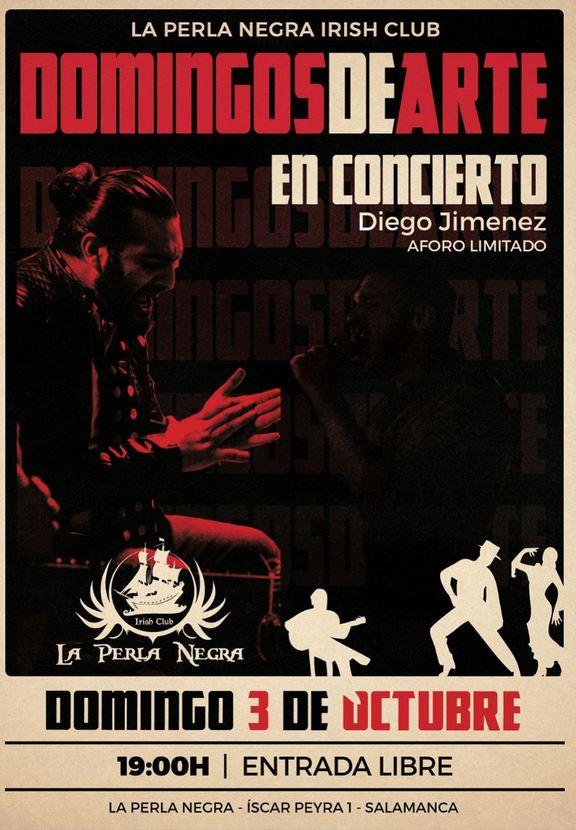 Diego Jimenez en Domingos de arte