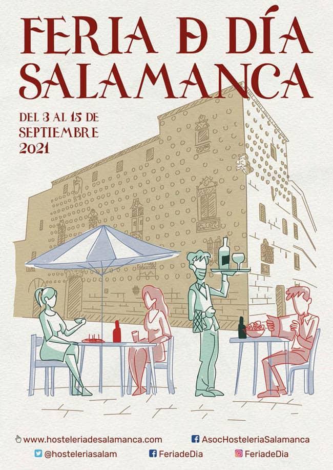 Feria de dia 2021. Cartel. Ferias y fiestas de Salamanca
