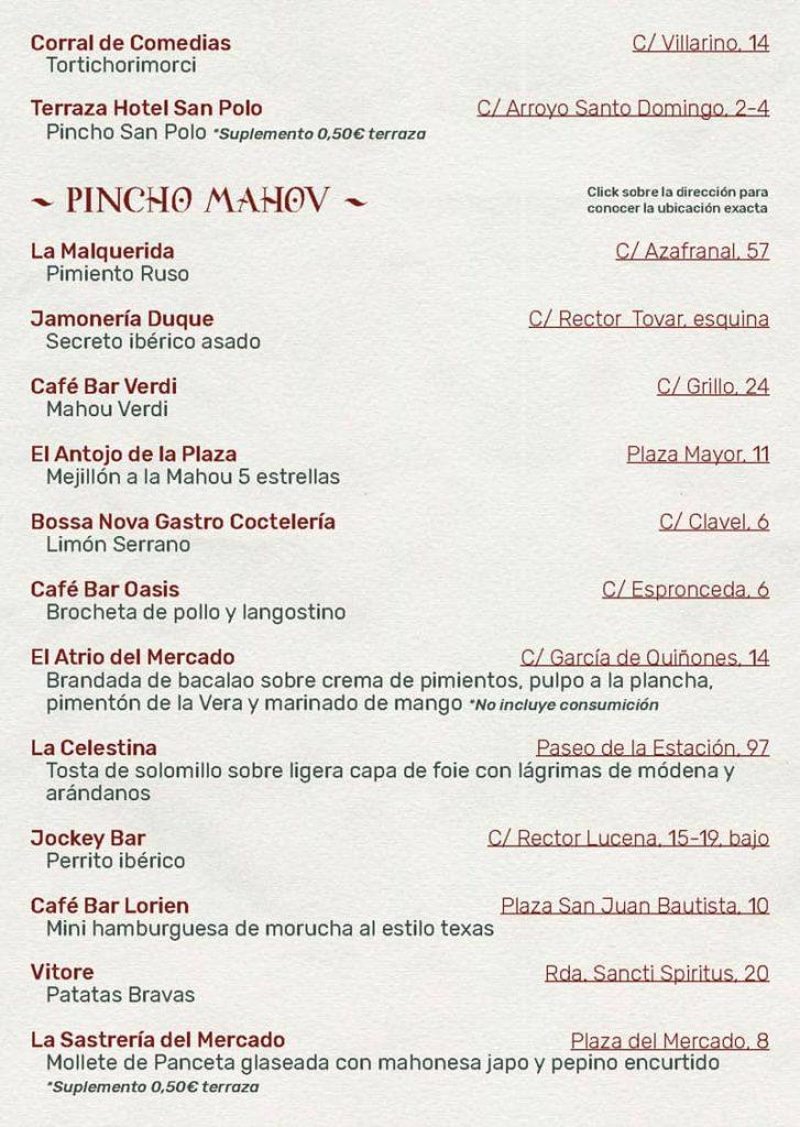 Feria de dia 2021. Establecimientos 3. Ferias y fiestas de Salamanca
