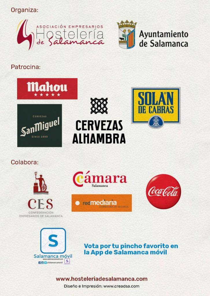 Feria de dia 2021. Organizadores y patrocinadores. Ferias y fiestas de Salamanca