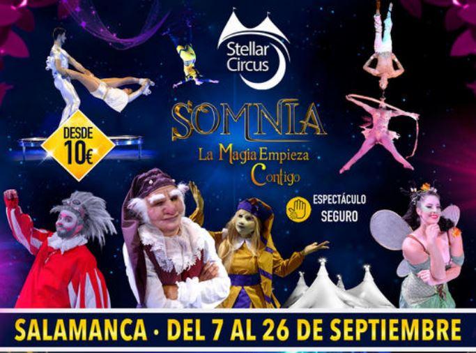 Ferias y fiestas de Salamanca 2021. Circo