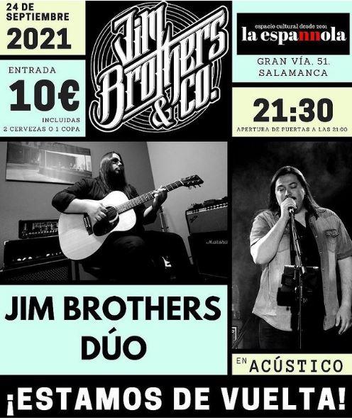 Jim Brothers Dúo en Salamanca
