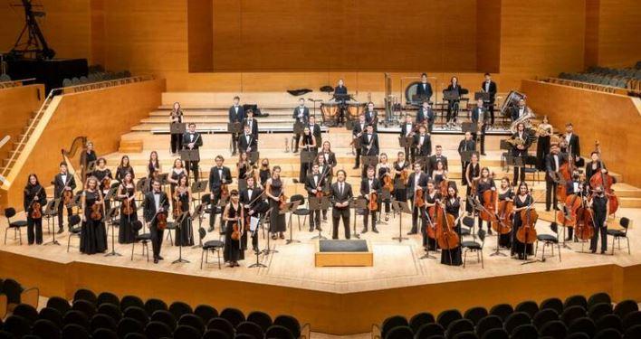 Joven orquesta sinfónica de Barcelona