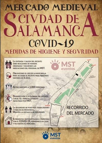 Mercado medieval de Salamanca 2021. Ferias y fiestas