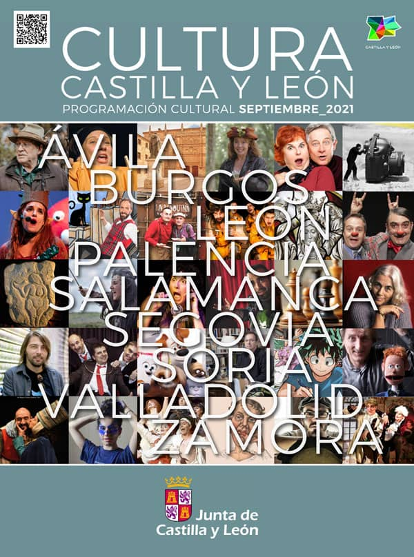 Programación cultural CYL. Septiembre 2021 Salamanca
