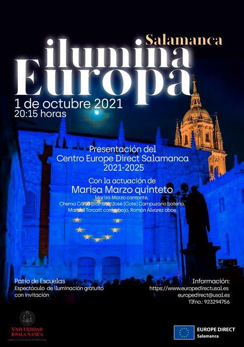 Salamanca ilumina Europa