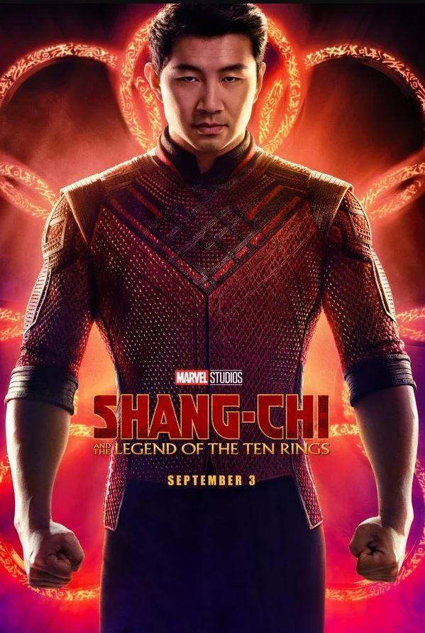 Cartel de la película Shang-chi y la leyenda de los Diez Anillos