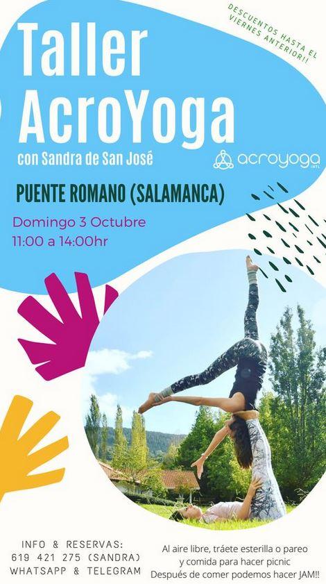 Taller de Acroyoga en Salamanca