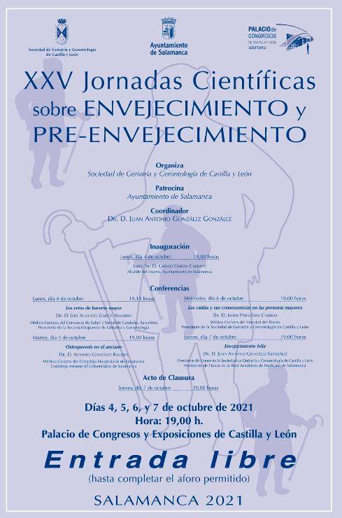 XXV Jornadas Científicas sobre Envejecimiento y Pre-envejecimiento