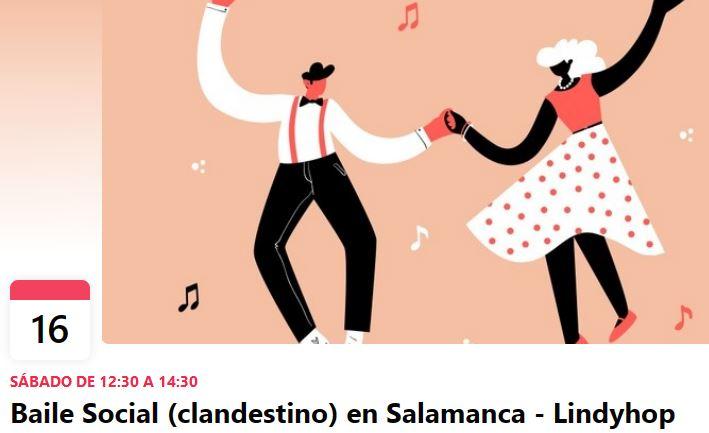 Baile social clandestino