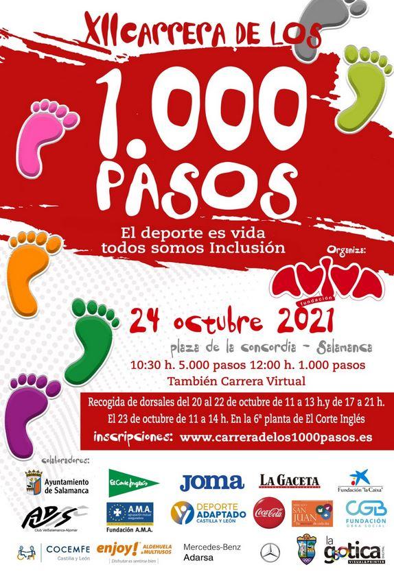 Carrera de los 1000 pasos en Salamanca