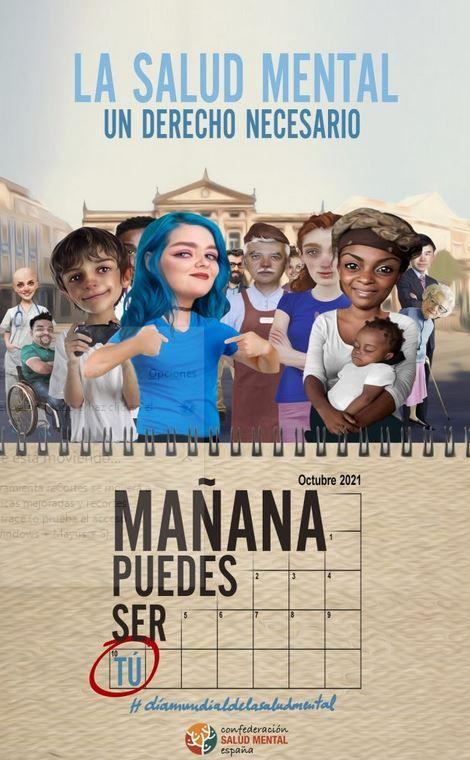 Día mundial de la salud mental en Salamanca