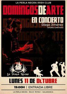Diego Jimenez en la Perla Negra en Salamanca