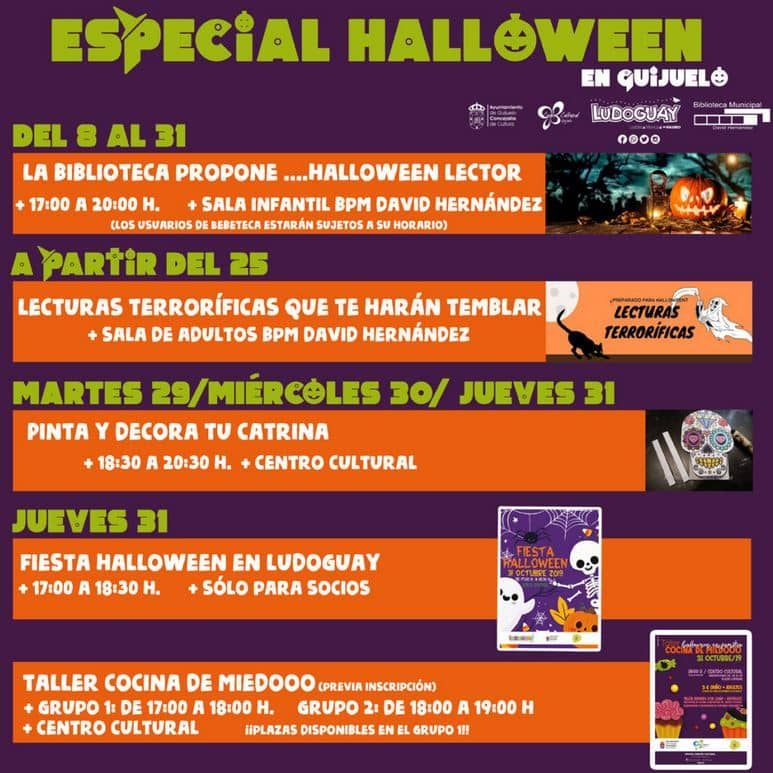Especial Halloween en Guijuelo