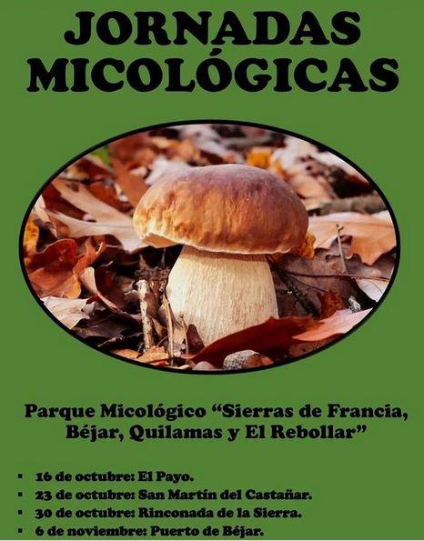 Jornadas micológicas Sierras de Francia, Béjar, Quilamas y El Rebollar