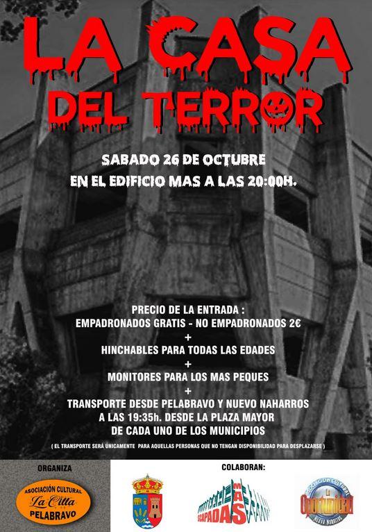 La casa del terror. Halloween en Pelabravo