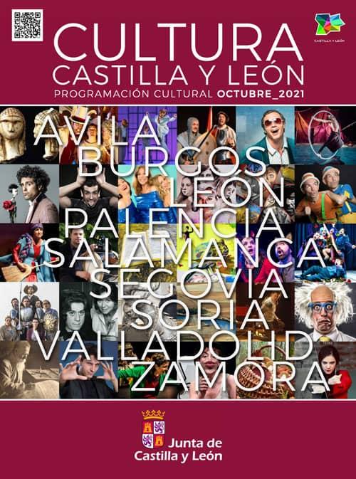 Programación cultural CYL. Octubre Salamanca